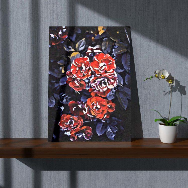 Картина Куст Розы