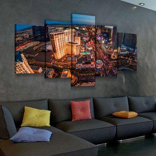 Модульная картина Лас-Вегас