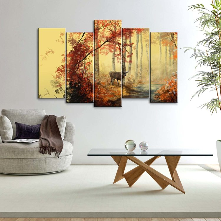 Картина Лесной Олень