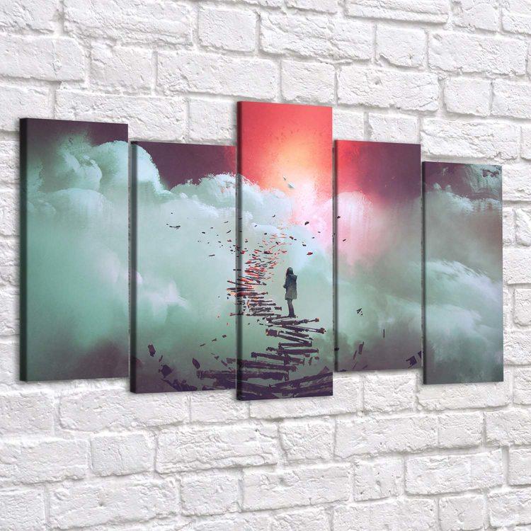 Картина Лестница В Бездну