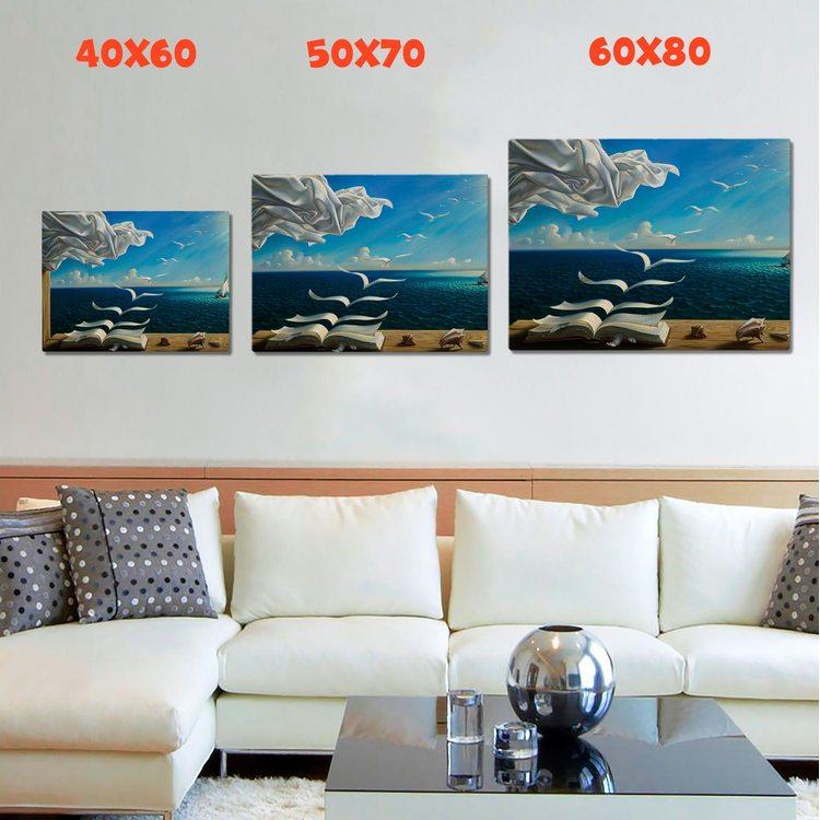 Картина Летящие Страницы