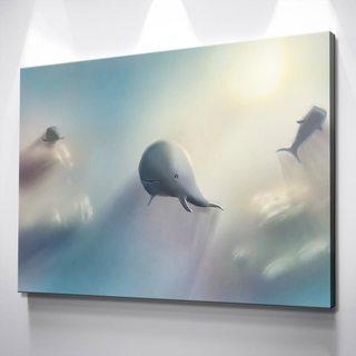 Картина Летящий Кит