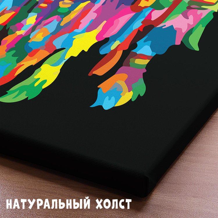 Картина Лев С Дредами
