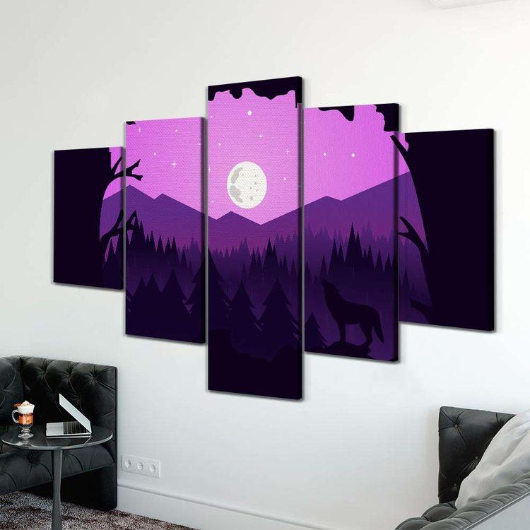Картина Лиловая Ночь