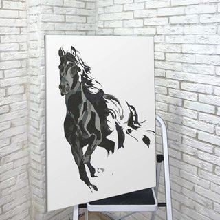 Картина Лошадь Минимализм
