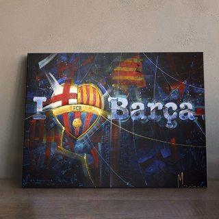 Картина Love Barca