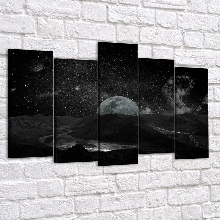 Модульная картина Луна