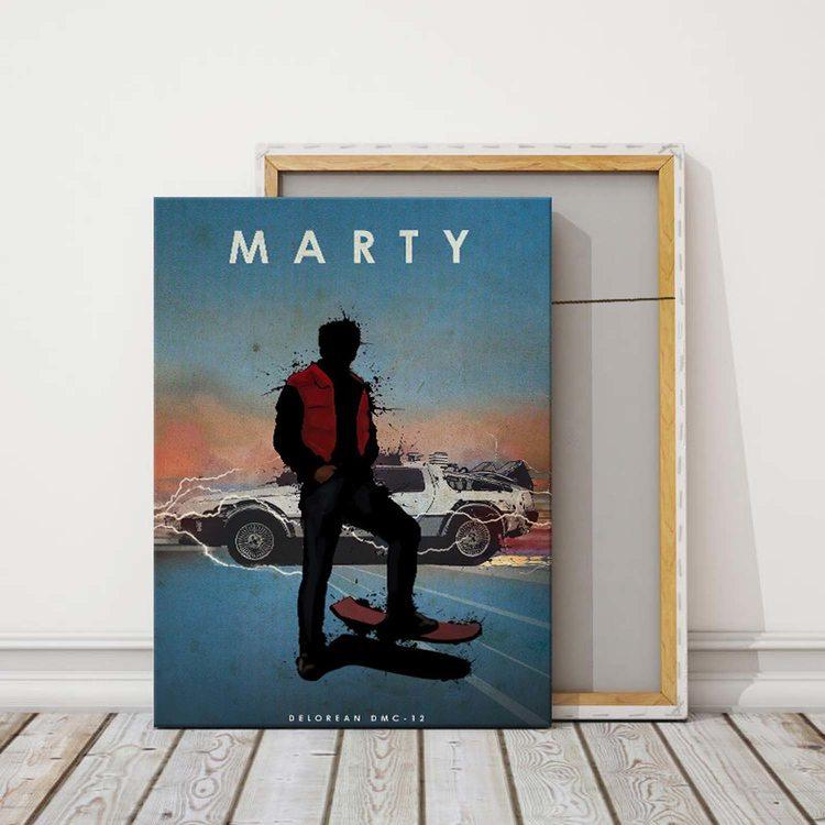 Картина Марти Макфлай