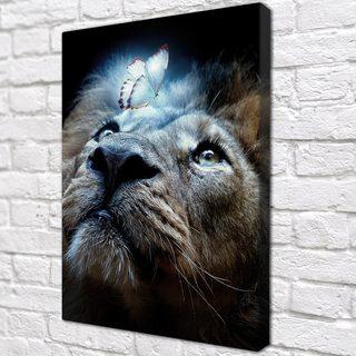 Картина Мечтающий Лев