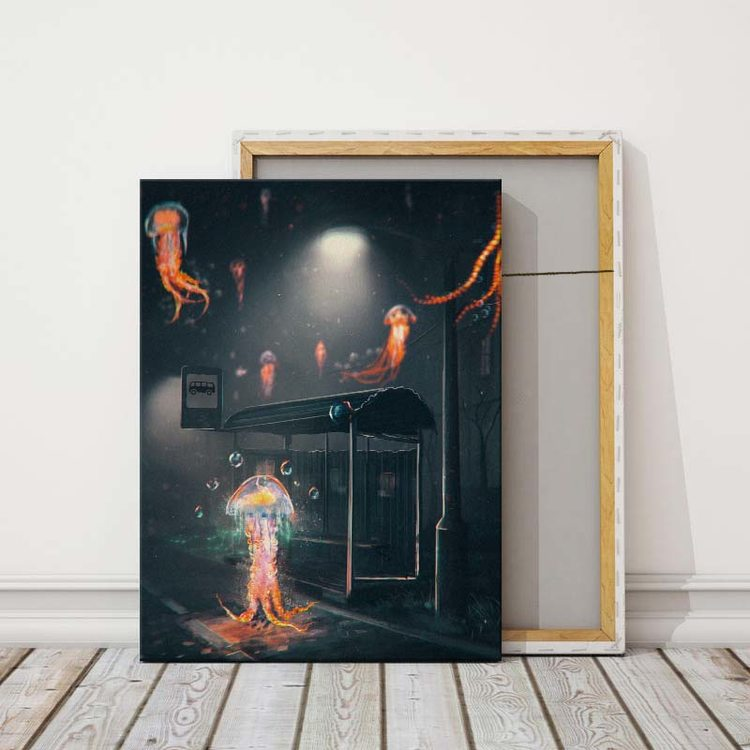 Картина Медузы Тоже Любят Приключения