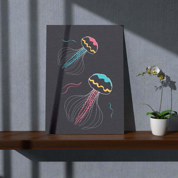 Картина Медузы Минимализм - p53634
