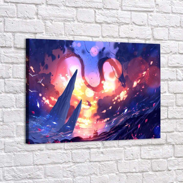 Картина Мифический Дракон