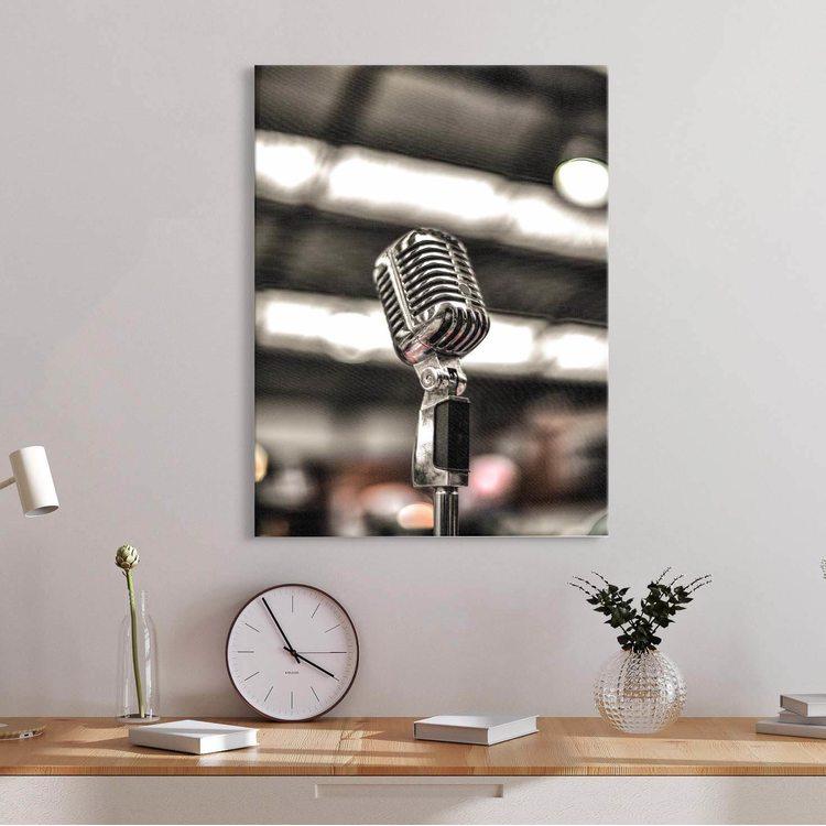 Картина Микрофон - p53646