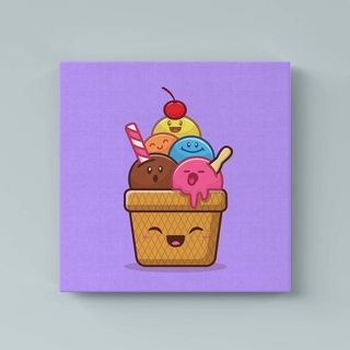 Картина Милашные Мороженки - p53611