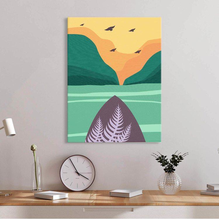 Картина Минимализм Море - p53628