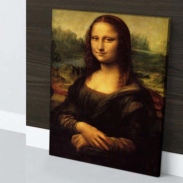 Картина Леонардо Да Винчи - Мона Лиза