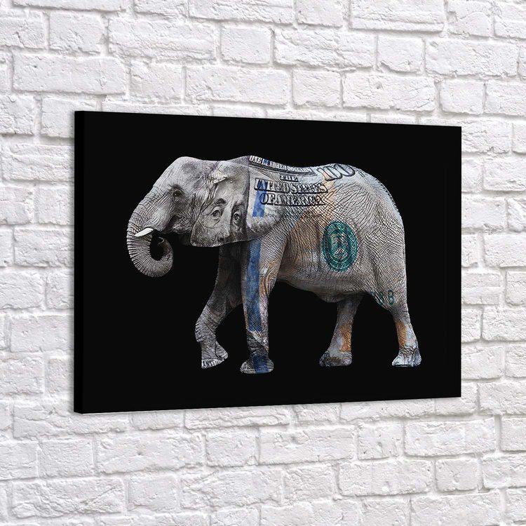 Картина Money Elephant