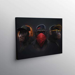 Картина Monkey Band