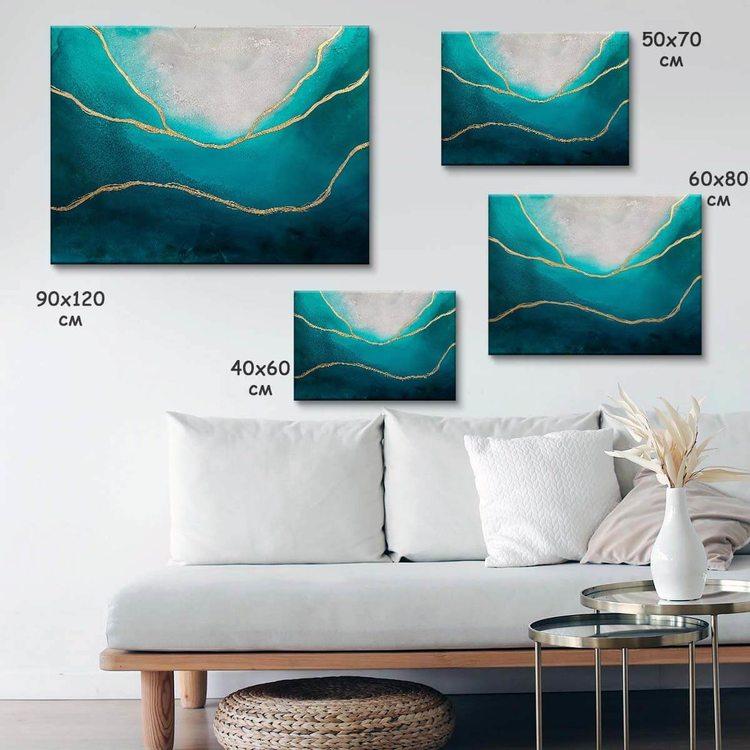 Картина Морская Золотая Нить - p53710