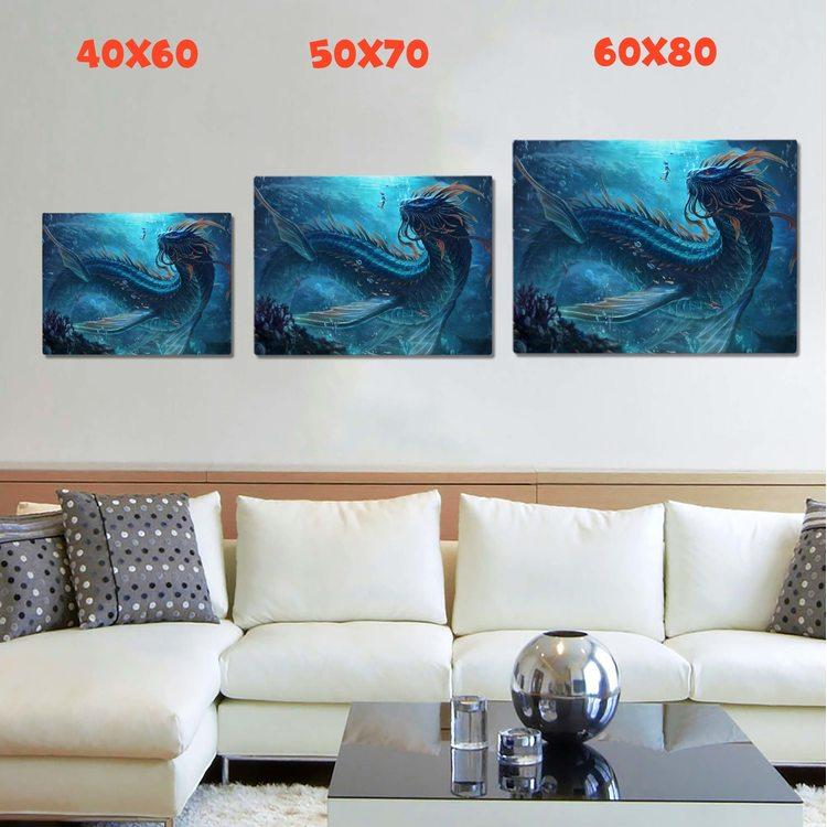 Картина Морской Дракон
