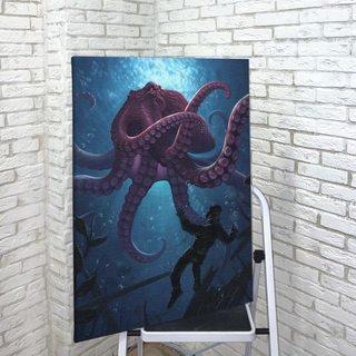 Картина Морской Житель