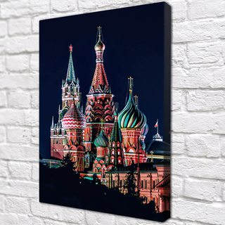 Картина Московский Храм