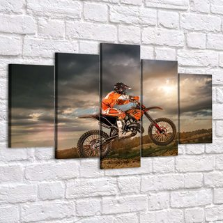 Картина Мотоциклист