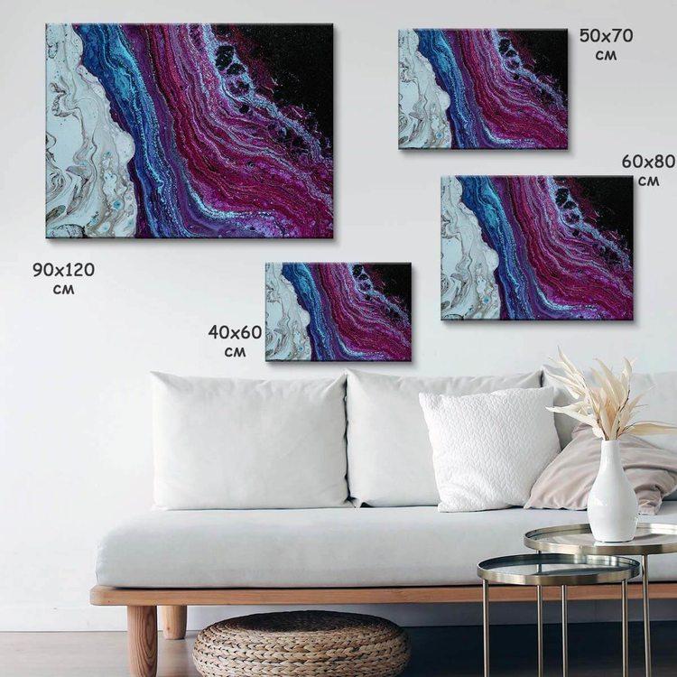 Картина Мраморные Волны - p53857