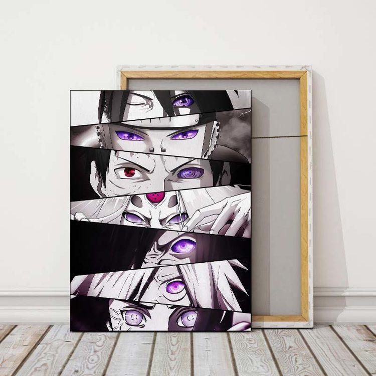 Картина Наруто - Глаза