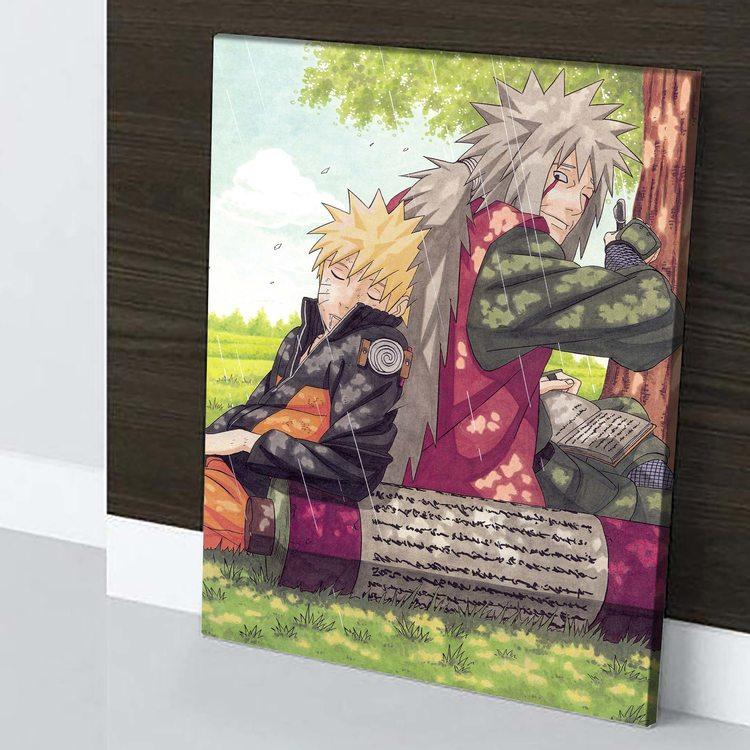 Картина Наруто И Джирайя