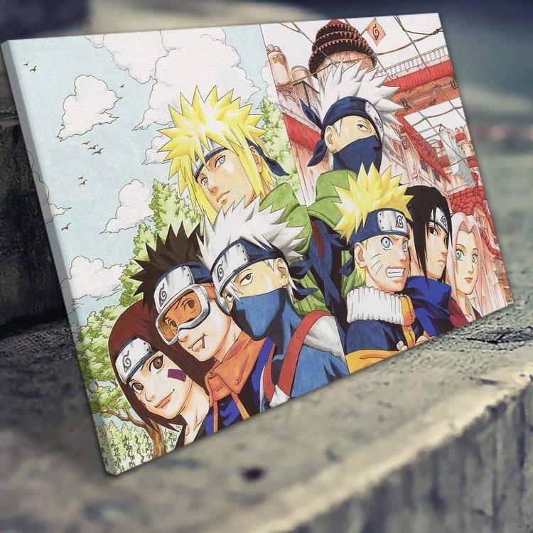 Картина Наруто - Команда Минато