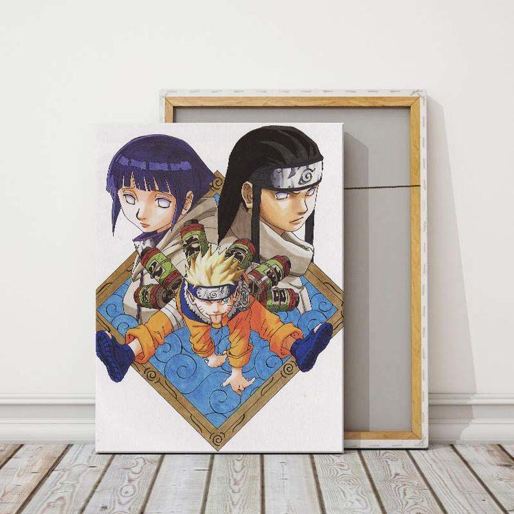 Картина Наруто - Неджи И Хитана