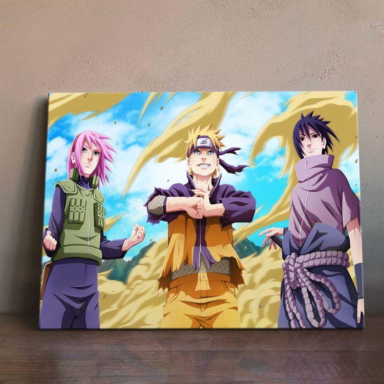 Картина Наруто Саске И Сакура