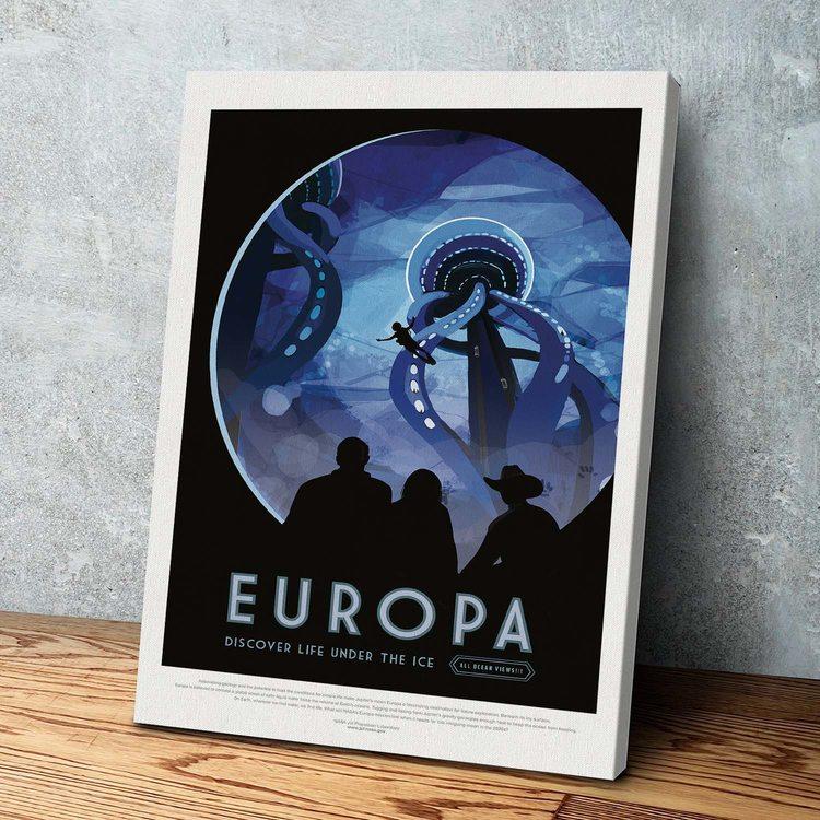 Картина  NASA Европа