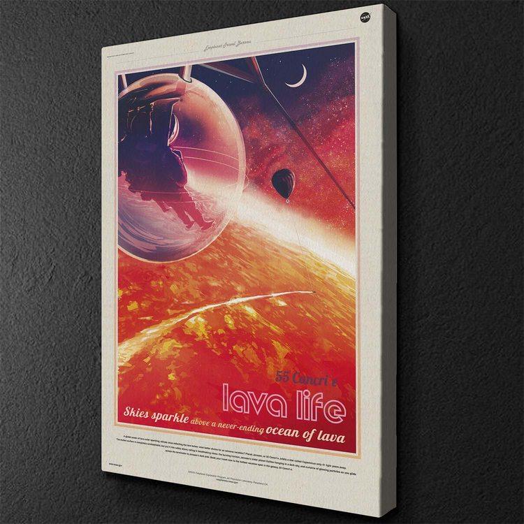 Картина  NASA lava life