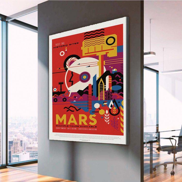 Картина  NASA Марс