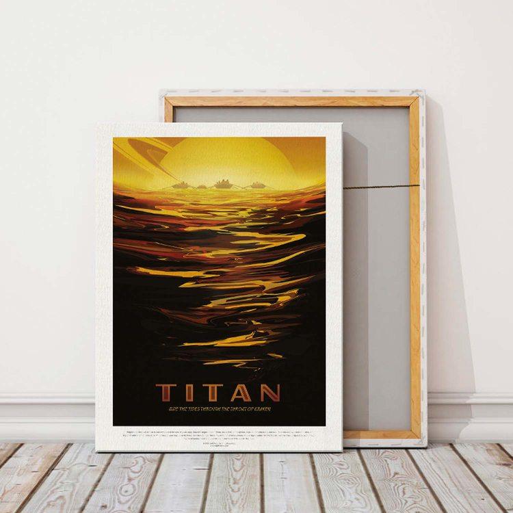 Картина  NASA Титан