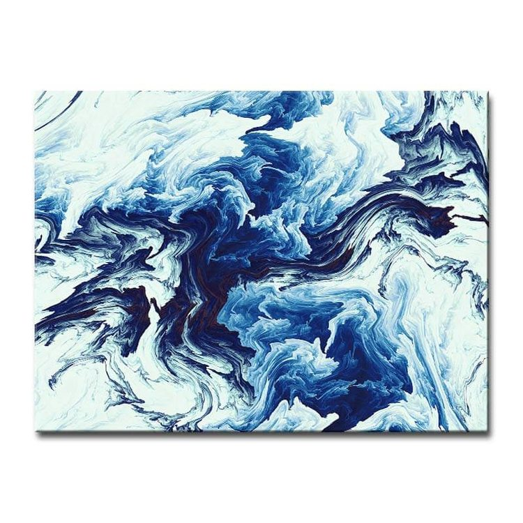 Картина Небесный Мрамор - p53855