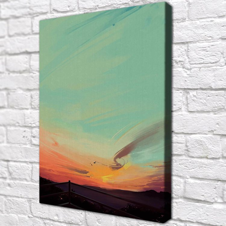 Картина Небо В Закате - p53774