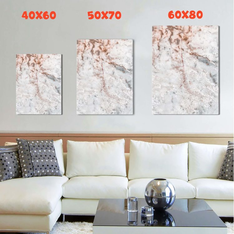 Картина Нежно-Розовый Мрамор - p53837