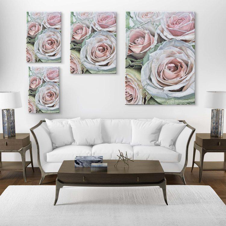 Картина Нежные Розы - p53688