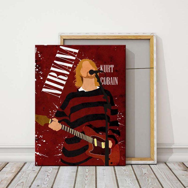 Картина Nirvana Курт