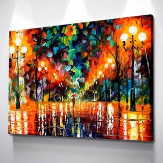 Картина Ночная Аллея