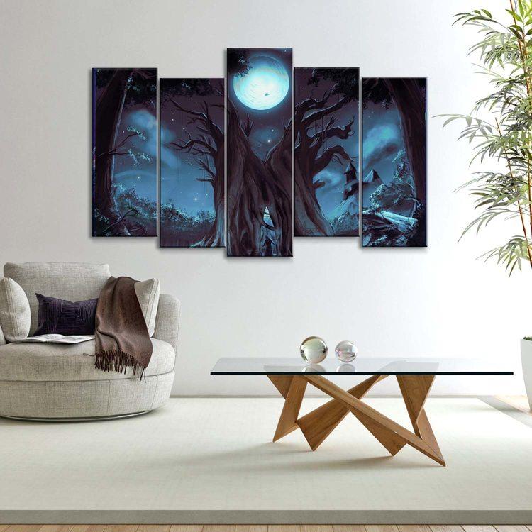 Картина Ночное Древо