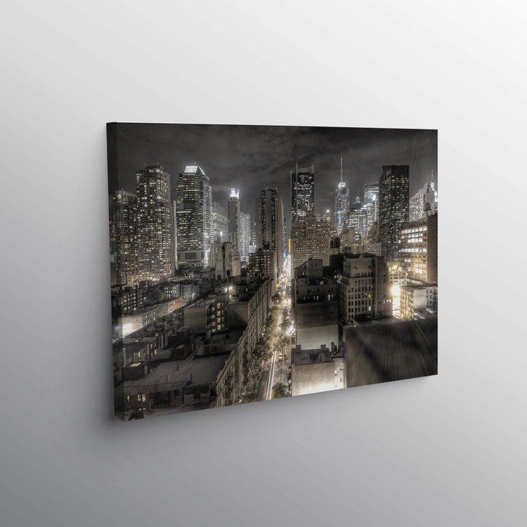 Картина Ночной Город - p53673