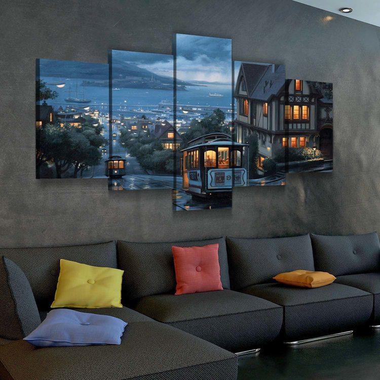 Картина Ночной Сан-Франциско