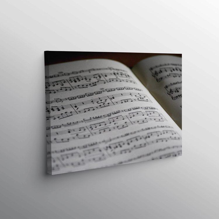 Картина Нотная Тетрадь - p53658