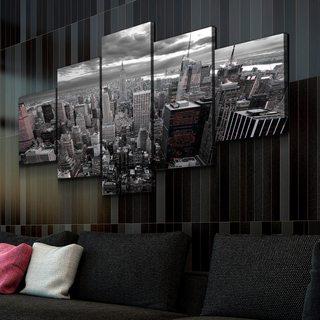 Картина Нью-Йорк (черно-бел.)