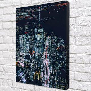Картина Нью-Йорк Небоскребы