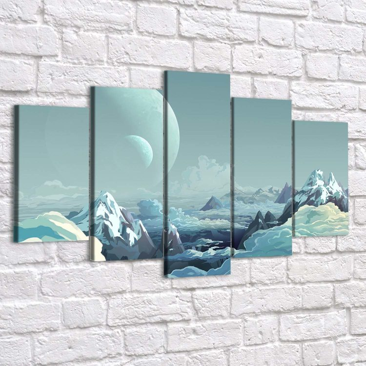Картина Облачные Горы